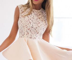 a-line homecoming dress, champagne prom dresses, and 2018 homecoming dress image