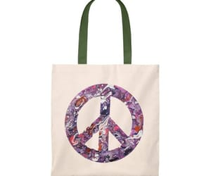 bags, gift, and peacesign image