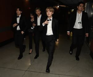bts, kpop, and grammys image