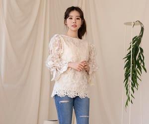 asian fashion, jeans, and kfashion image
