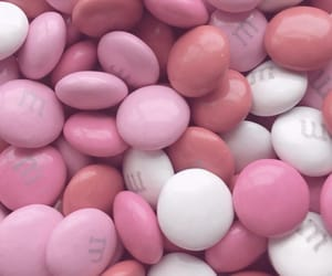 pink and m&ms image