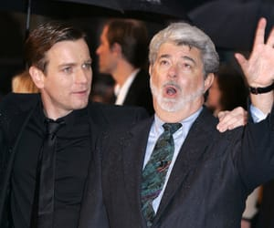 ewan mcgregor, george lucas, and moulin rouge image
