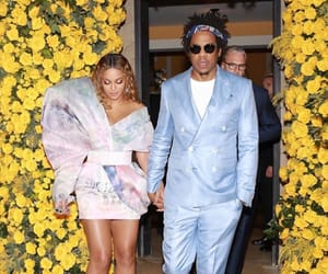 jay z, jayonce, and yellow image