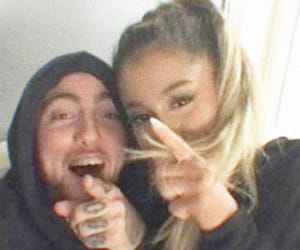 ariana grande, mac miller, and icon image