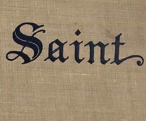 saint, theme, and aesthetic image