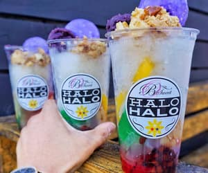 colors, drinks, and food image