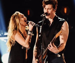 grammys, miley cyrus, and shawn mendes image