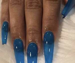 acrylics, blue, and clear blue image