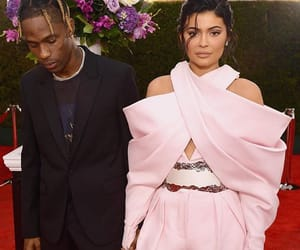 style, kylie jenner, and travis scott image