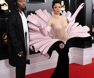 flower, grammys, and cardi b image