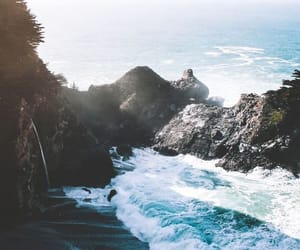 ocean, nature, and sea image
