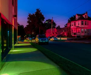 night, colors, and neon image