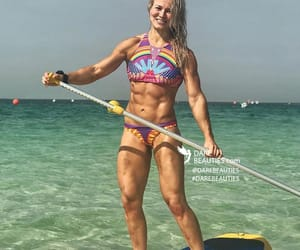 fitness, sixpack, and gymgirl image