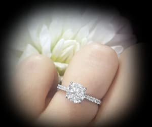 engagement rings, wedding rings, and diamond engagement rings image