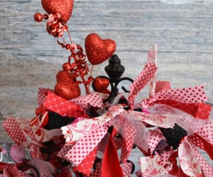 etsy, red hearts, and valentine decoration image