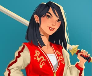 espada, mulan, and luchadora image