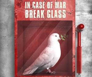 peace, art, and war image