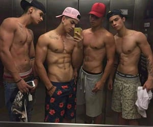 beautiful, people, and sixpack image