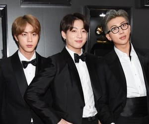 grammys, jin, and bts image