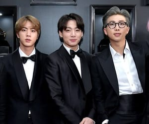 grammys, jin, and red carpet image