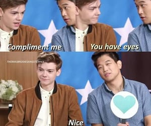compliment, eyes, and funny image