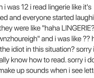 12, english, and lingerie image