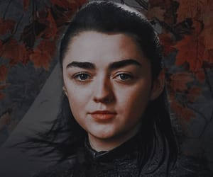 girl, stark, and got image