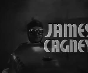 gif, james cagney, and the crowd roars image