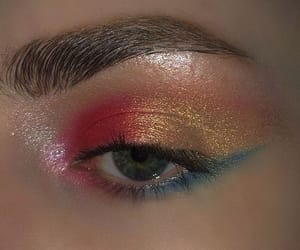 aesthetic, eyeshadow, and makeup image