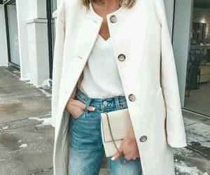 clutch, coat, and cream image