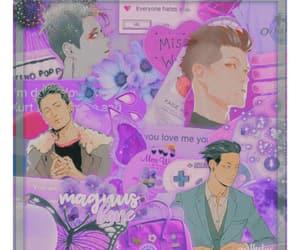 magnus, purple, and bane image