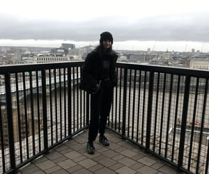 black, london, and outfit image