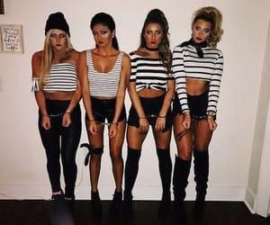 costume, girls, and haloween image