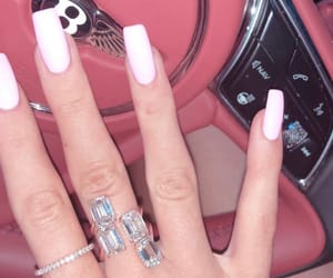 nails, kylie jenner, and cars image