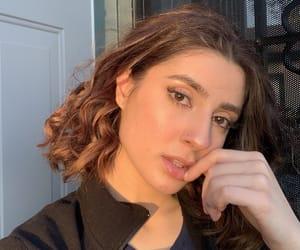eyes, hair, and model image
