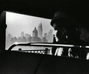 black and white, new york, and vintage image