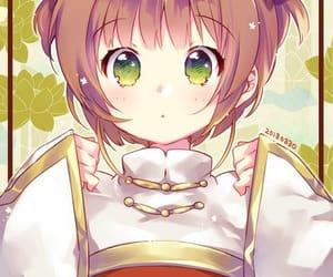 anime, card captor sakura, and sakura kinomoto image