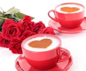 blumen, Kaffee, and rosen image