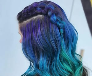blue, color, and cut image