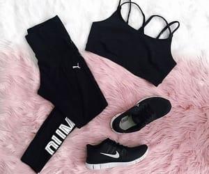 black, gear, and puma image