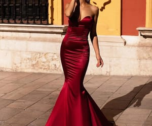 fashion, red, and beautiful image