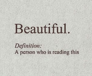 beautiful, words, and love image