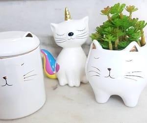 art, cat, and decor image