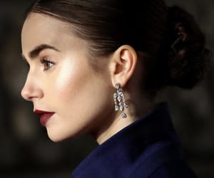 lily collins, actress, and bafta image