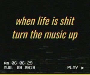 life, music, and grunge image