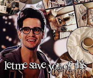 brendon urie, panic! at the disco, and vices and virtues image