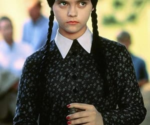addams family, black, and christina ricci image