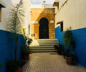 blue, marruecos, and travel image