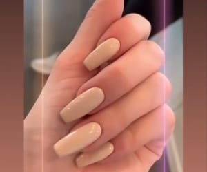 hands, manicure, and nail image