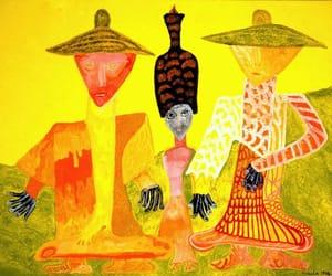graphic artist, Painter, and avant-garde art image